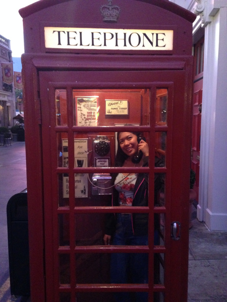 phone booth by JustineSaldana