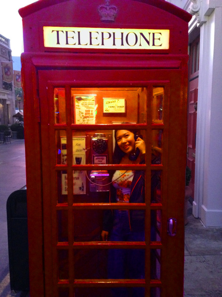 phone booth edit by JustineSaldana