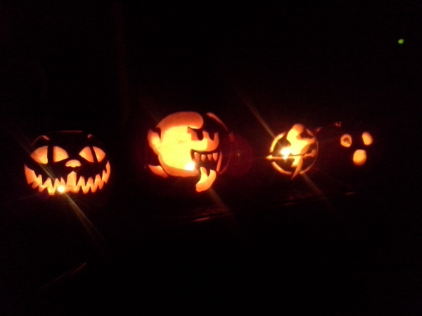 pumpkins by JustineSaldana