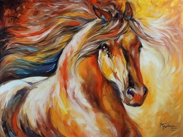 horse by JustineSaldana