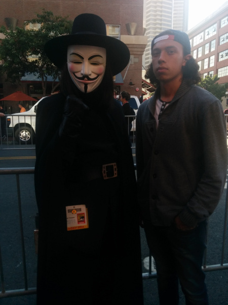 V for Vendetta by JacobSaucedo