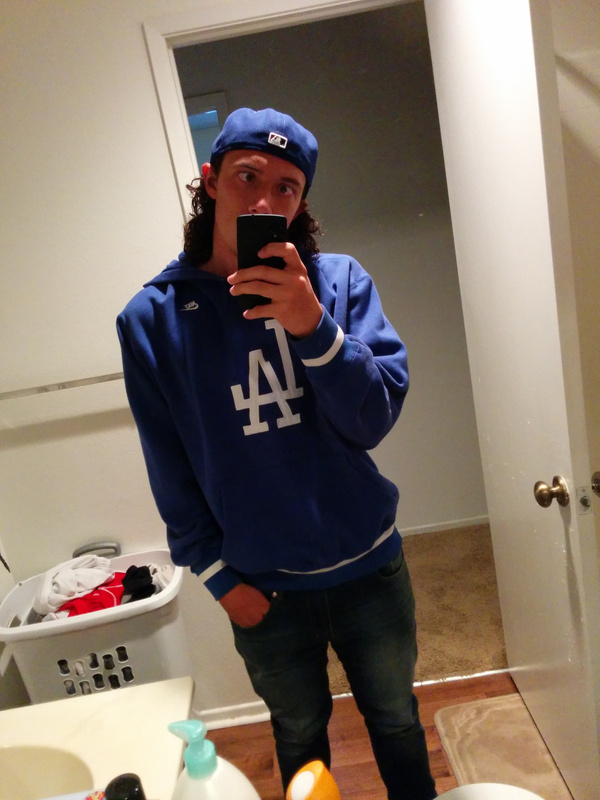 headed to the dodger game