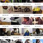 Self-Portrait: Best 2 + Contact Sheet