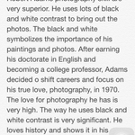 One Page Biography