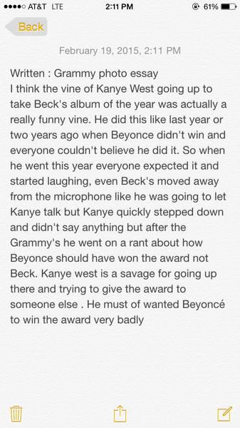 Written: Grammy Photo Essay by NicoFlores