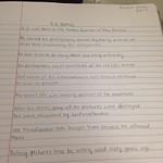 Written Assignments