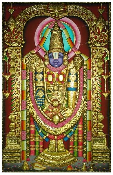 Tirupati Ji IndianRoyalArts by Reachkrishna