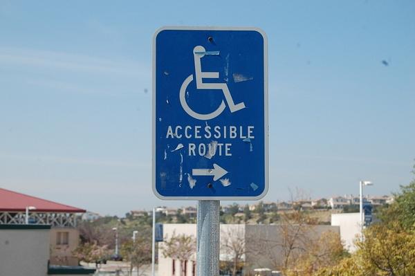 handicap sign by Jamie42