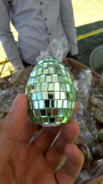 Silver Egg by Jamie42