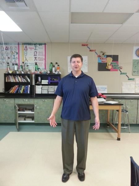 The science teacher by Jamie42