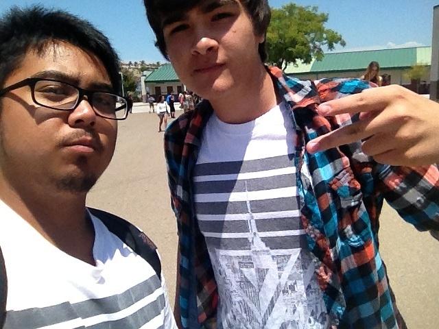 Matching Shirts with friend