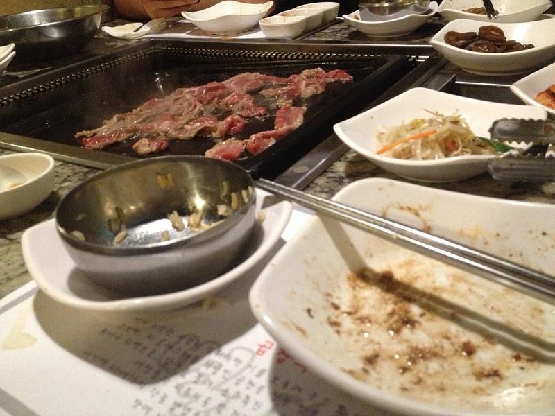 Korean BBQ in Irvine