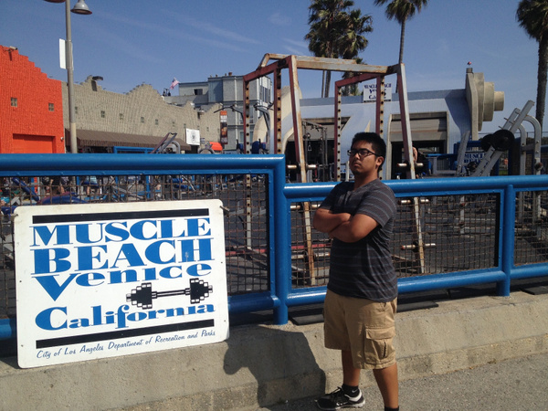 Muscle Beach Venice by RyanAvelino
