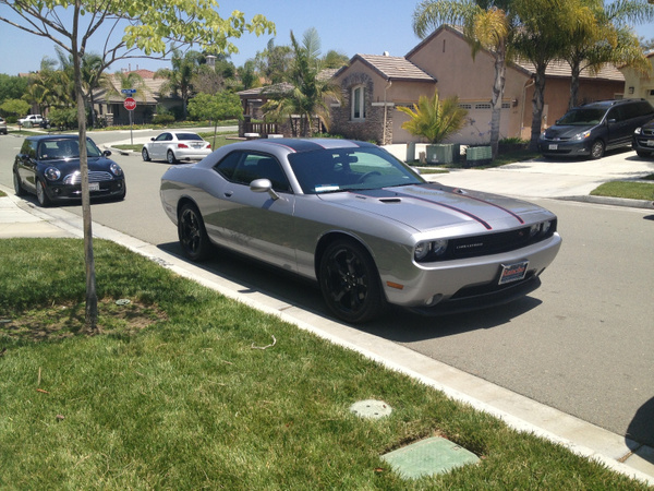 Dodge Challenger and Cooper by RyanAvelino