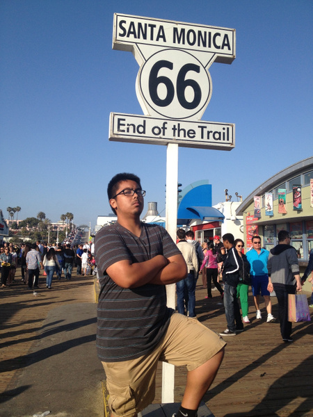 Route 66 Santa Monica by RyanAvelino