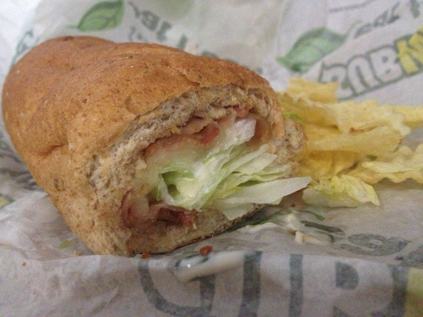 BLT sub with Chips by RyanAvelino
