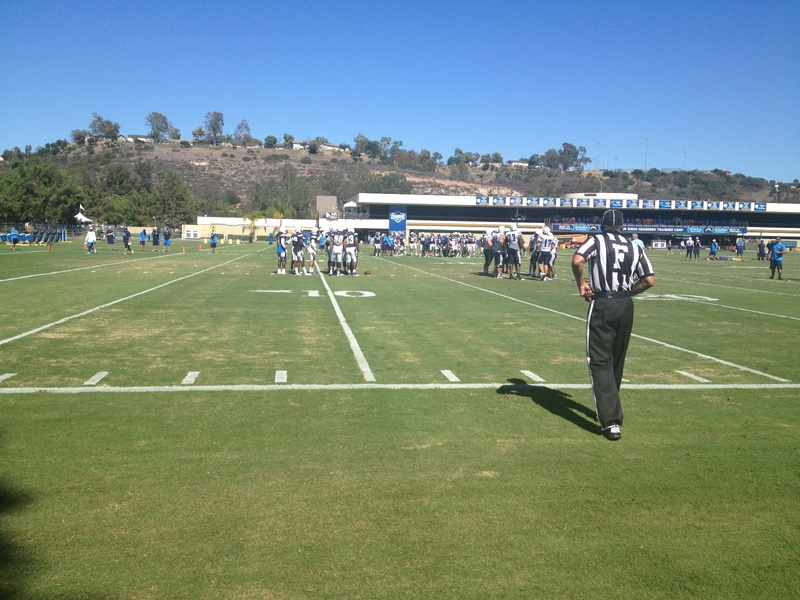 Charger Field Practice