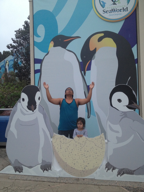 Penguins with Cousin