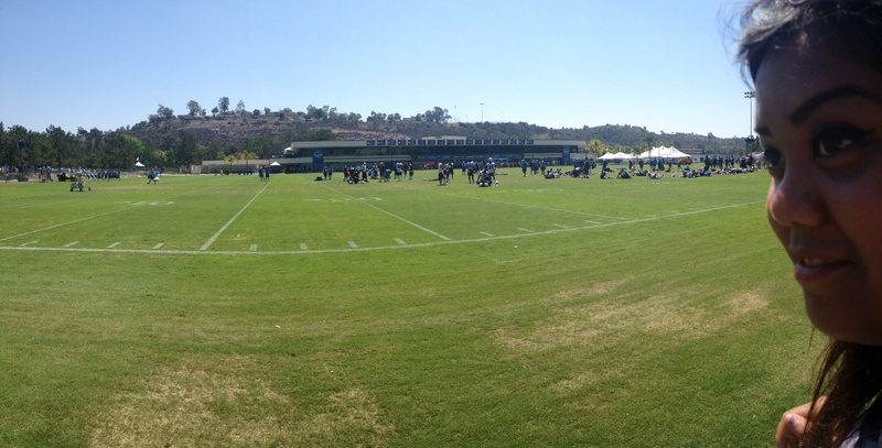 Panoramic at Charger field