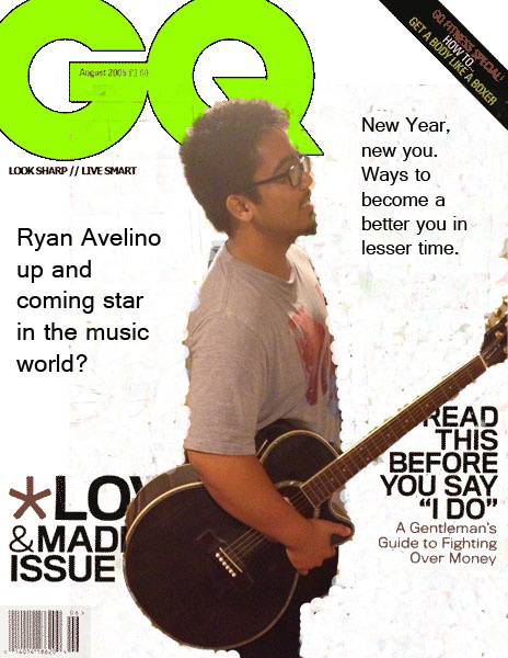 GQ magazine cover