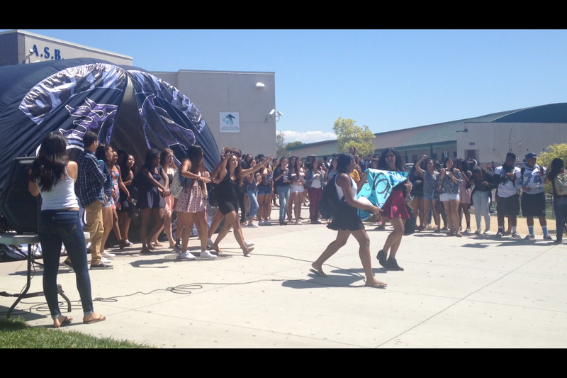 Volleyball Pep Rally