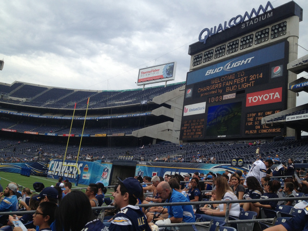 Qualcomm Stadium by RyanAvelino