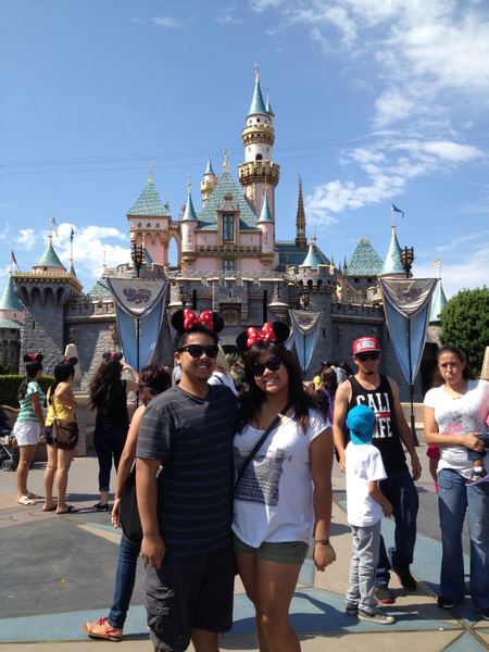 Disneyland castle by RyanAvelino