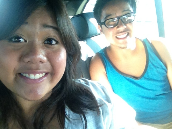 Car ride with sis by RyanAvelino