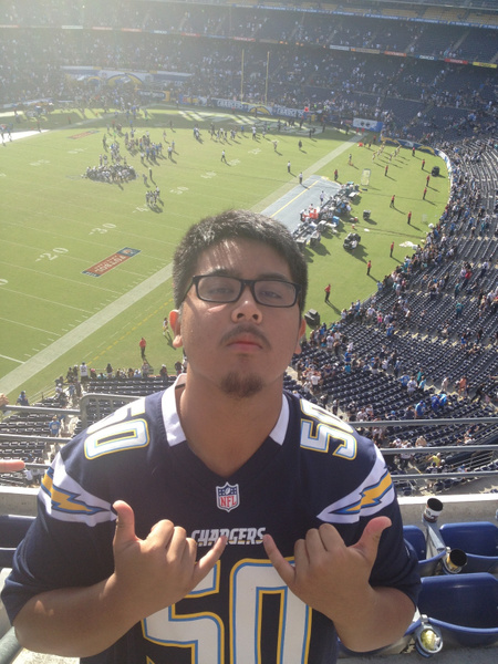 Chargers Game by RyanAvelino