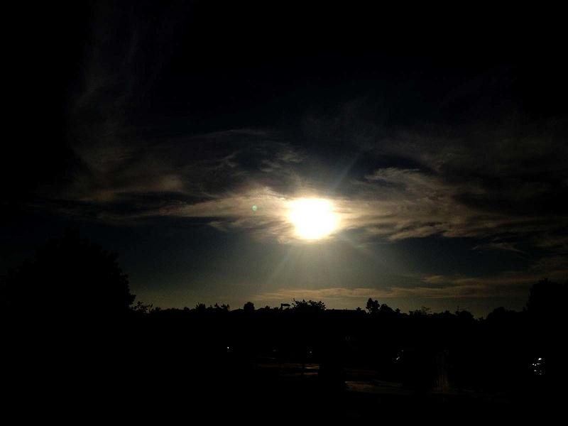 Sun Over the C