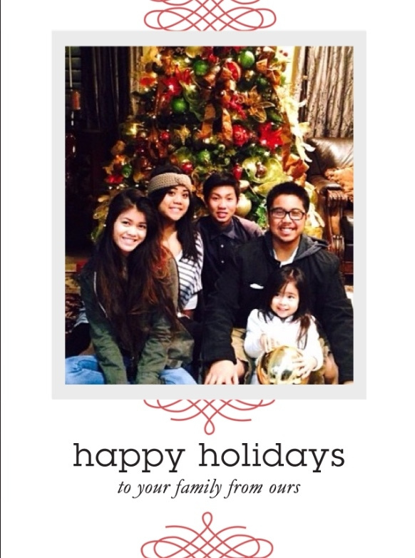 Happy Holidays from Fam