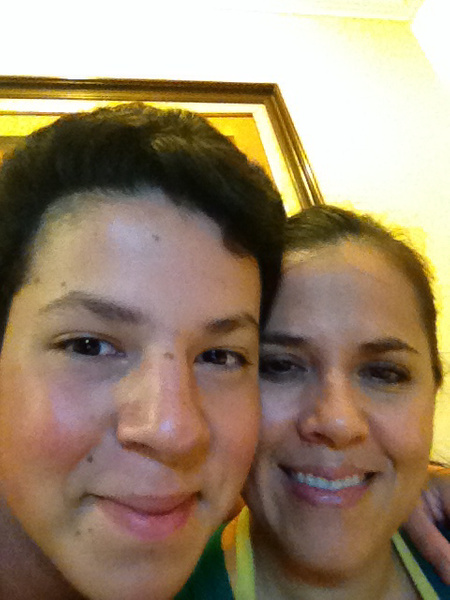 Me and my mom by SalvadorVicentebanuelos