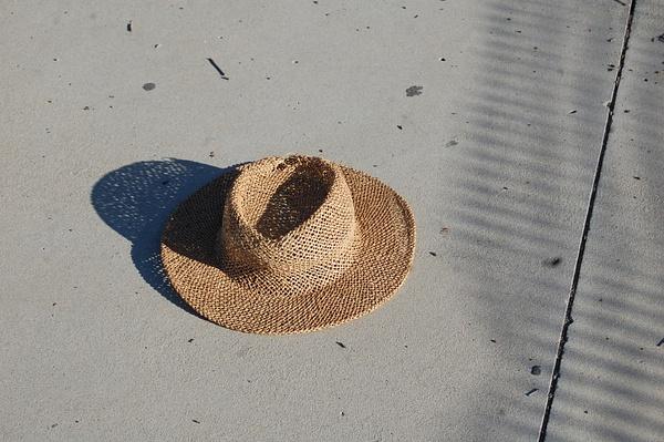 The straw hat by SalvadorVicentebanuelos