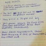 NPR Notes