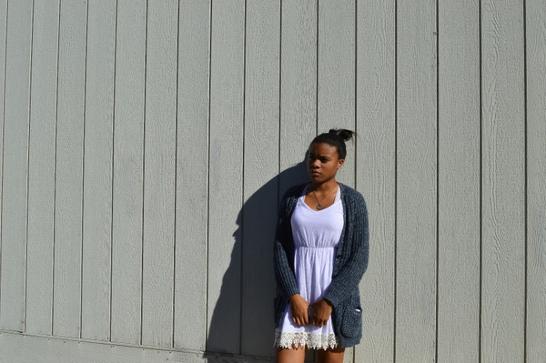 thinking in the sun by YarianCamillelewis