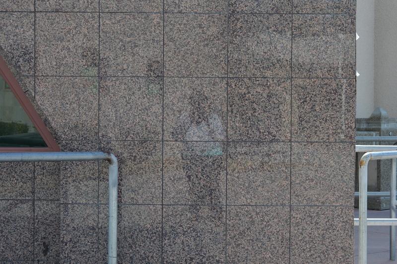 wall reflection selfie