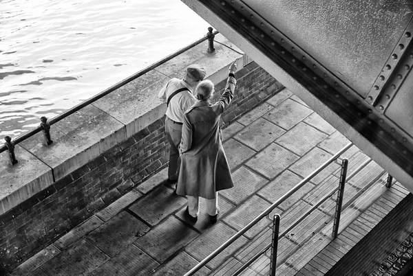 Two on a Bridge
