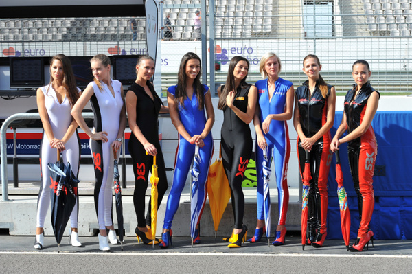 SBK_Grid_Girls_Pits by Danilomosko