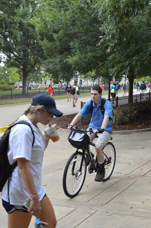 stop motion-biker