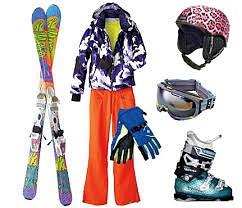 Ski Clothing by ColinHolmes