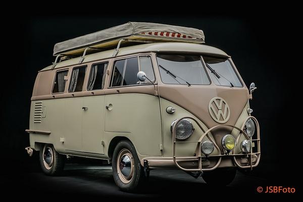 Vintage Bus by Jsbfoto