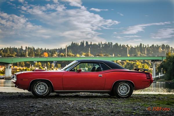 1970 Cuda by Jsbfoto
