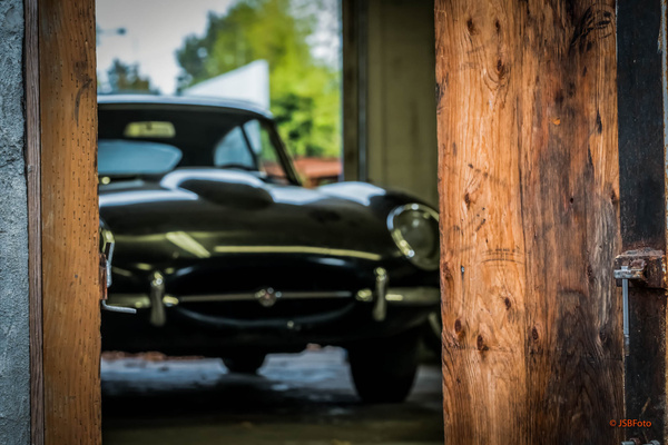 Brads Barn Find Jag by Jsbfoto
