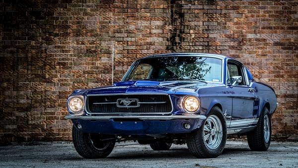 Fastback Mustang by Jsbfoto