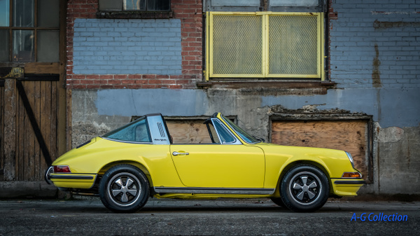 1973.5 Light Yellow Targa by Jsbfoto