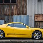 2003 Ferrari 360 Yellow