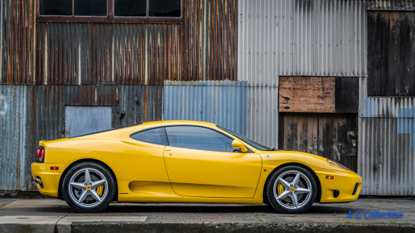 2003 Ferrari 360 Yellow by Jsbfoto