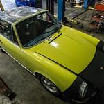 Yellow Targa Pre-Resto