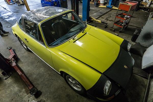 Yellow Targa Pre-Resto by Jsbfoto