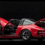 Red 1983 Targa